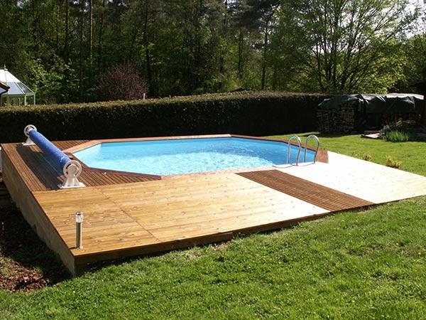 vendeur de piscines en bois dans les vosges. Black Bedroom Furniture Sets. Home Design Ideas