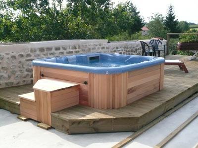 Vendeur de spas vosges installateur spas epinal for Abris spa exterieur